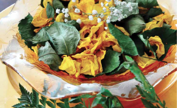 Make your own potpourri from summer flowers